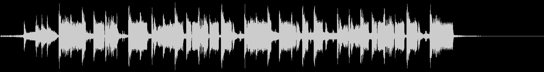 ヘビーホップALT。混合の未再生の波形