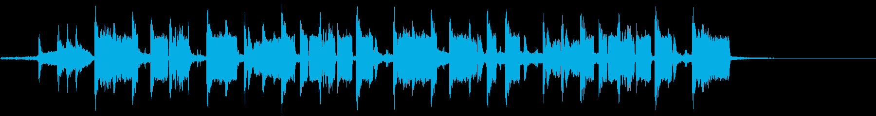 ヘビーホップALT。混合の再生済みの波形