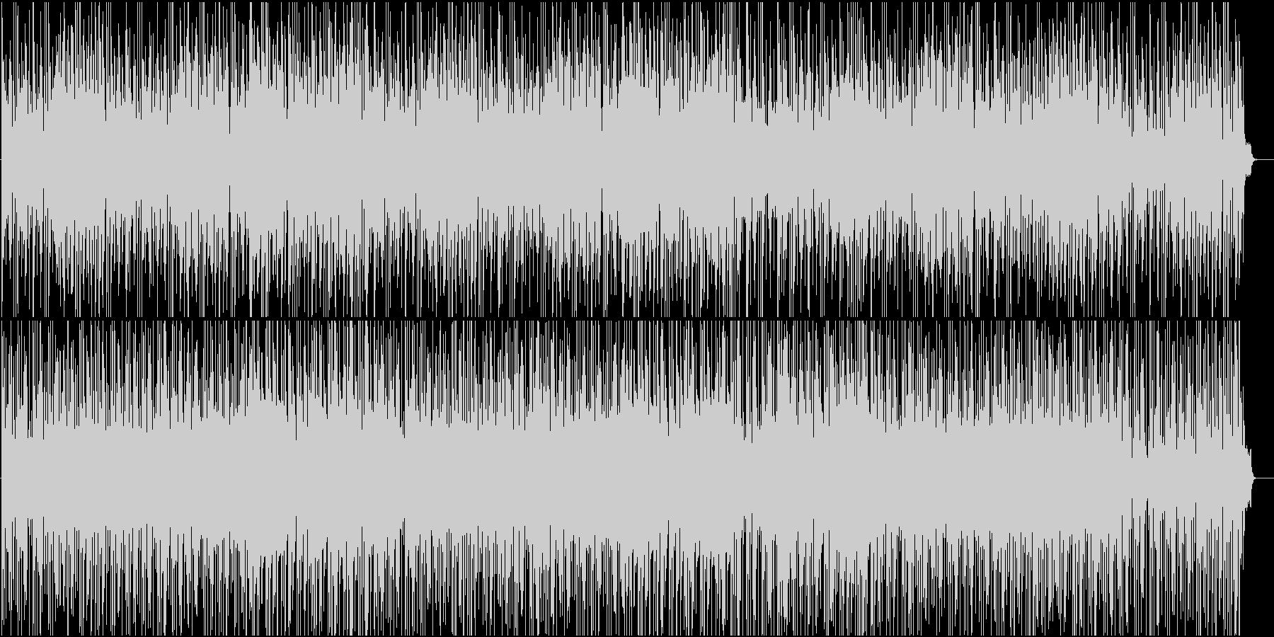 和風・三味線や琴、笛が爽やかなBGMの未再生の波形