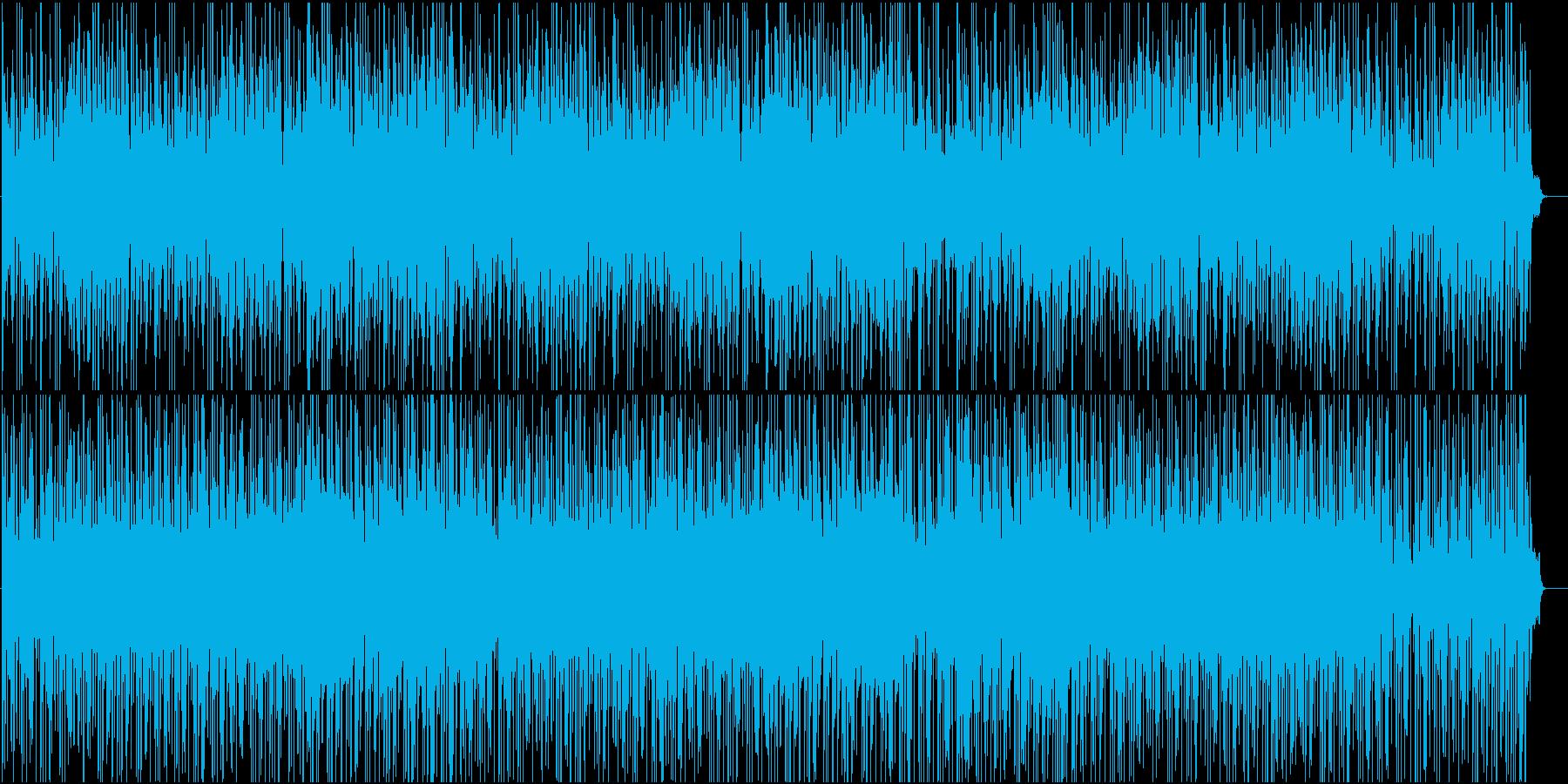 和風・三味線や琴、笛が爽やかなBGMの再生済みの波形