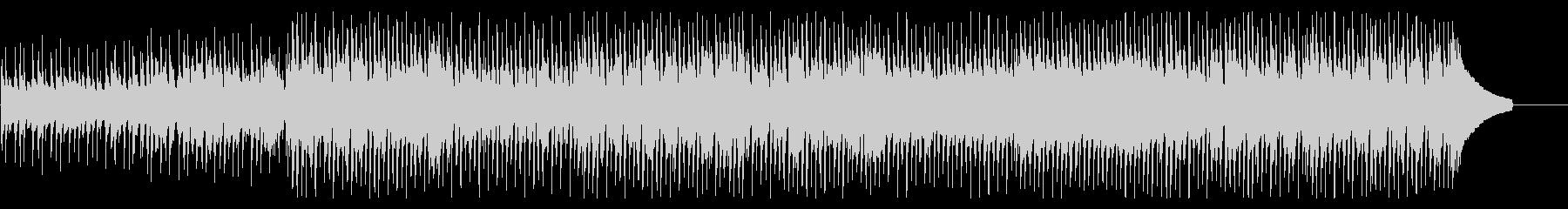 アップテンポで楽しいコーポレートBGMの未再生の波形