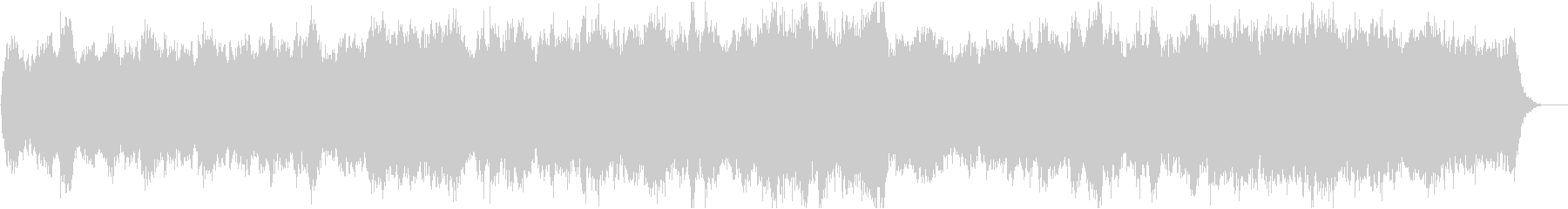 動画13 16bit48kHzVerの未再生の波形