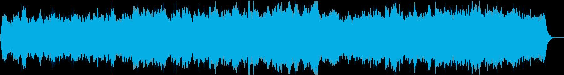 動画13 16bit48kHzVerの再生済みの波形