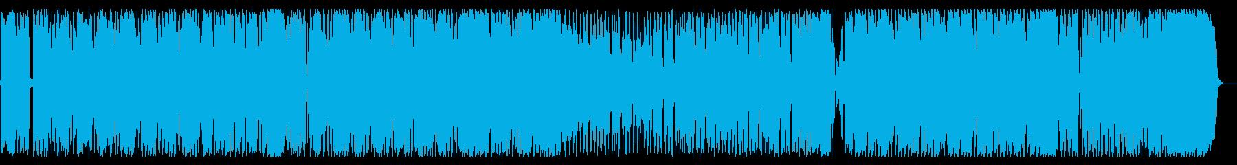 ポップでコミカルなキッズソングの再生済みの波形