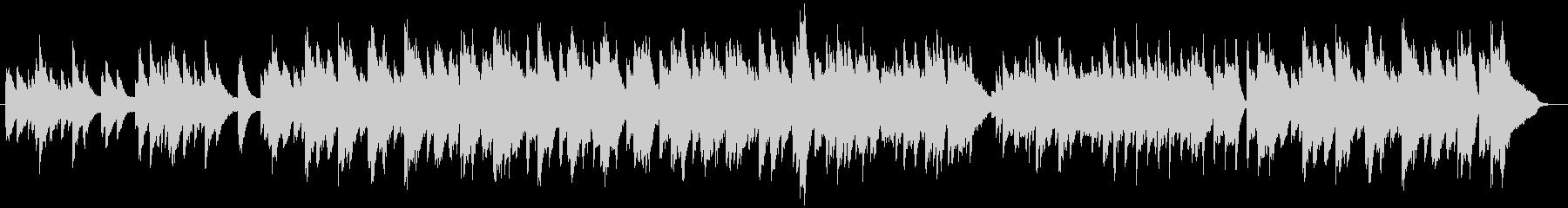 ピアノとビブラフォンによるまったり日常系の未再生の波形
