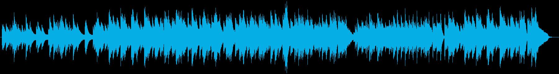 ピアノとビブラフォンによるまったり日常系の再生済みの波形