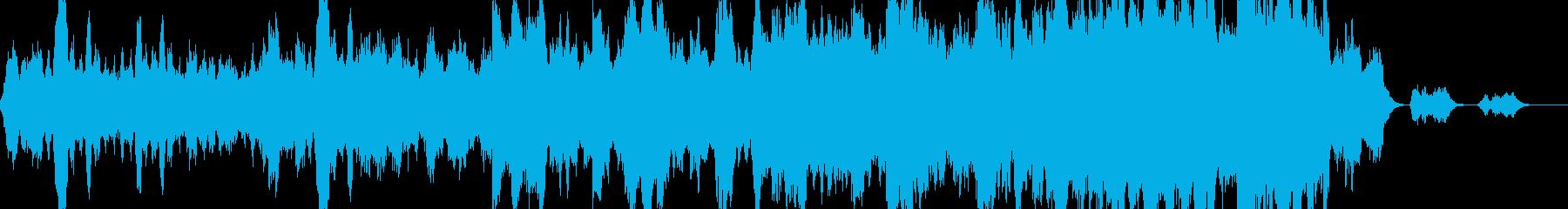 再会の場面で流れるストリングス曲の再生済みの波形