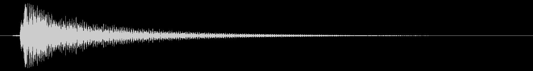 素材 ナイロンギターコードハイディ...の未再生の波形