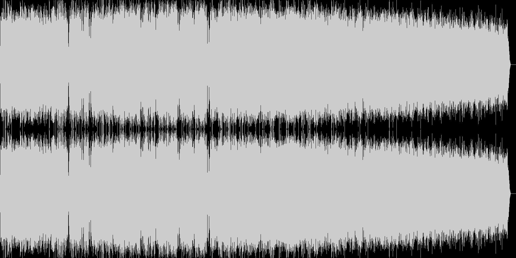 エネルギー暴走風ビーム音の未再生の波形