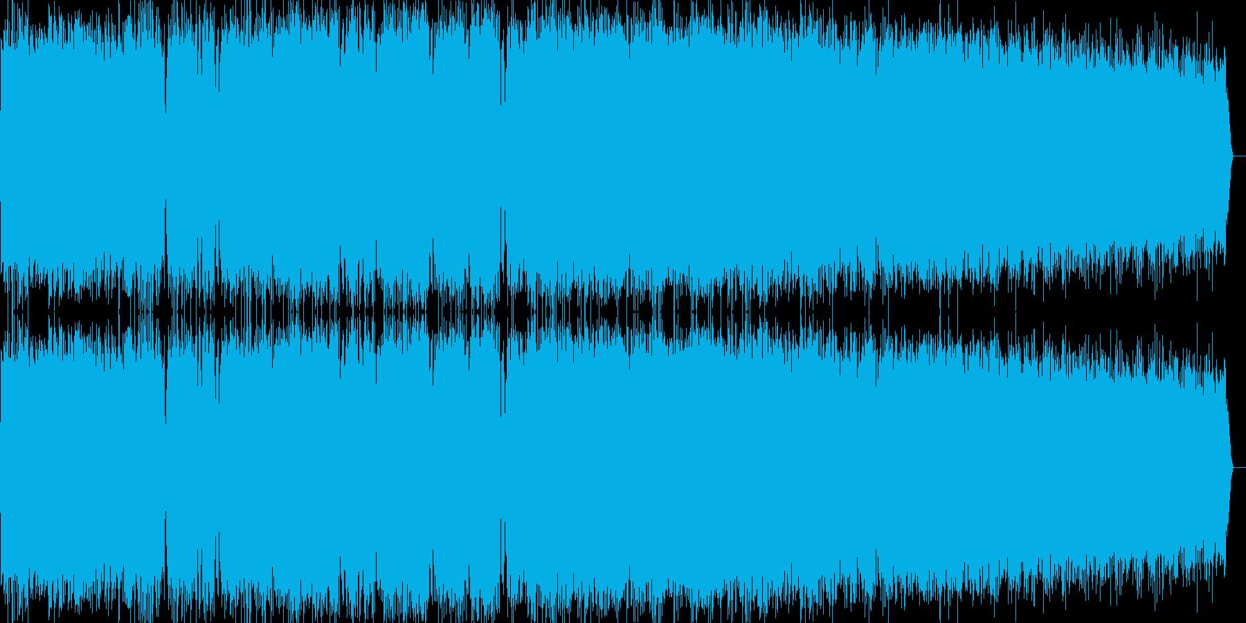 エネルギー暴走風ビーム音の再生済みの波形