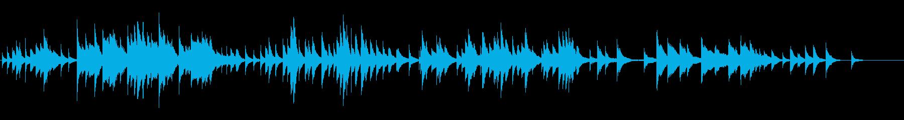 アンニュイな雰囲気、ハープソロ 前奏曲の再生済みの波形