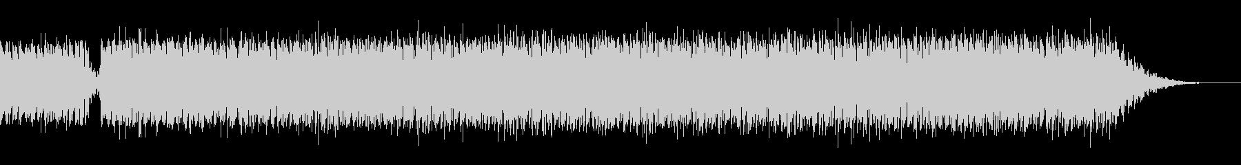 ジングルベルの4つ打ちダンス系シンプルの未再生の波形