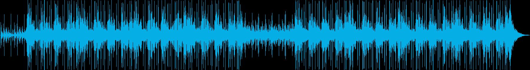 シンセサイザー、ストリングス、ピア...の再生済みの波形