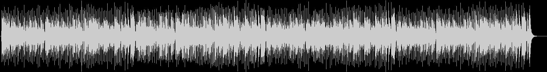 ほのぼのしたオルガン・シンセサウンドの未再生の波形