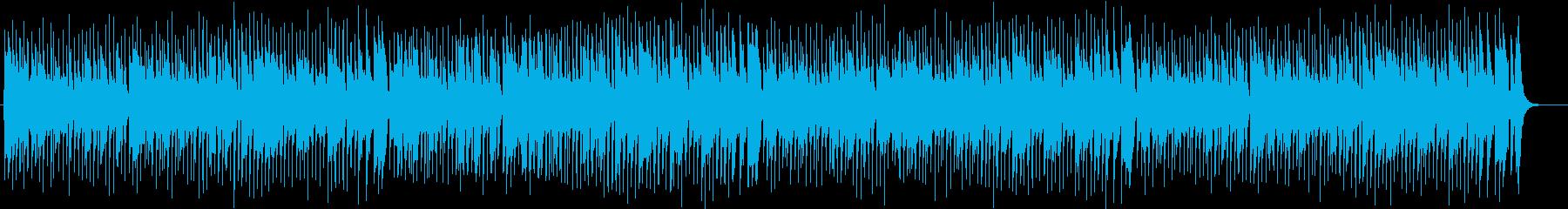 ほのぼのしたオルガン・シンセサウンドの再生済みの波形