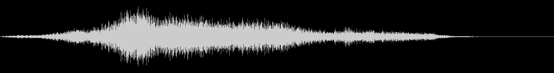 グリッティスタティックバズフーズの未再生の波形