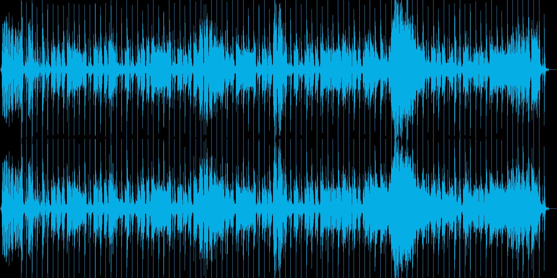思わず笑顔になるシャッフルキッズソングの再生済みの波形