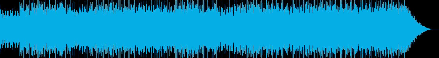 今風のLo-fiビート、お洒落な雰囲気の再生済みの波形