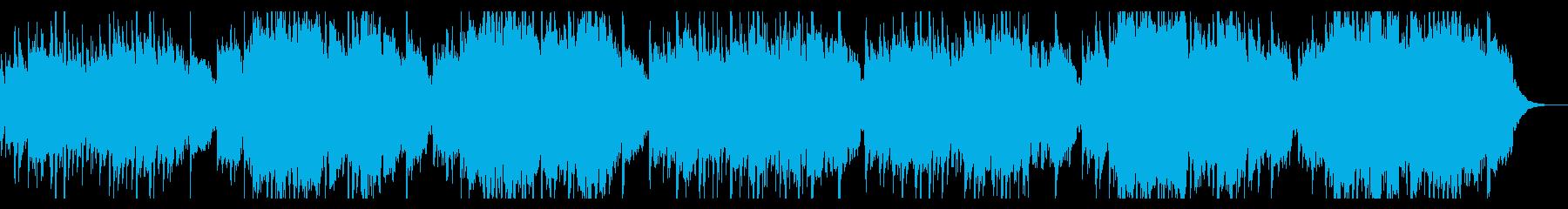 穏やかで切ないケルト風バラードの再生済みの波形