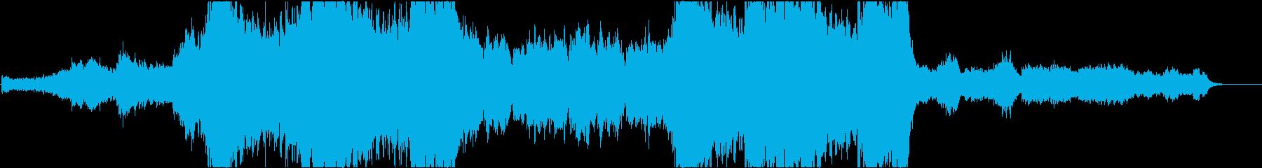 ミステリー調のエピックダークオーケストラの再生済みの波形