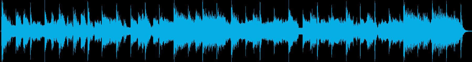 90年代のアメリカンポップジングルの再生済みの波形