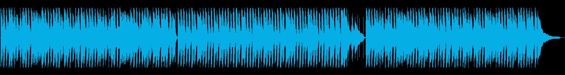 ハッピー楽しい、ポップなアコースティックの再生済みの波形