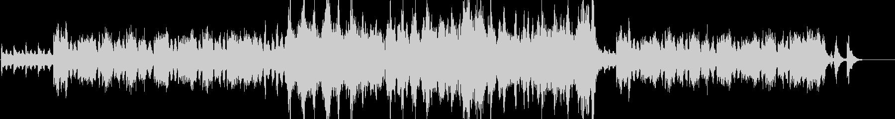 フルート・ほのぼの・優雅の未再生の波形
