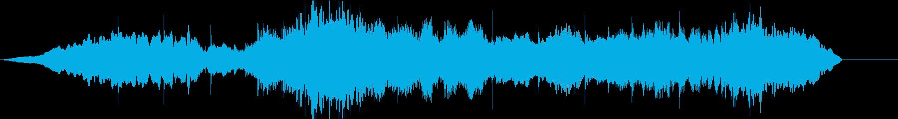周囲の大気シンセのサウンドスケープ。の再生済みの波形