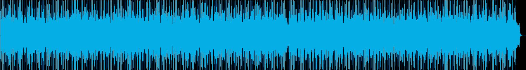 穏やかでハッピーな雰囲気・日常系BGMの再生済みの波形