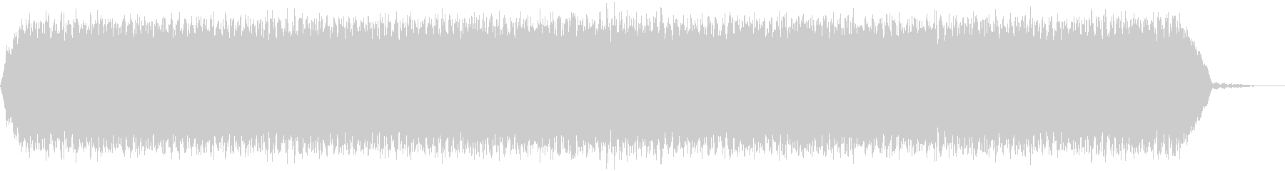 【アンビエント】ドローン_10 実験音の未再生の波形