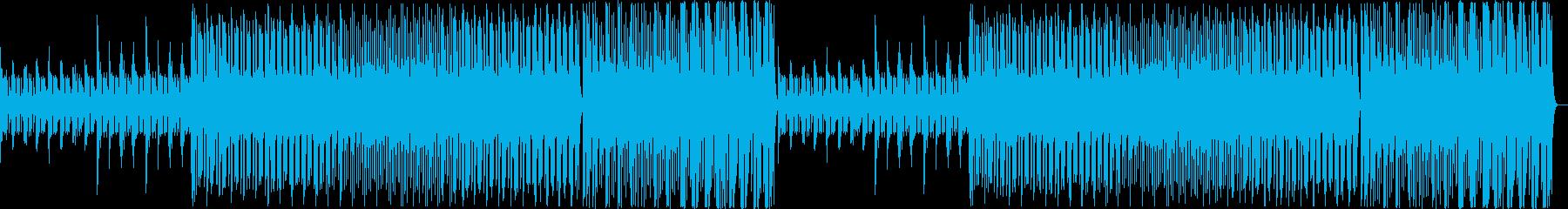 【チル】ゆったりとしたBGM・10の再生済みの波形