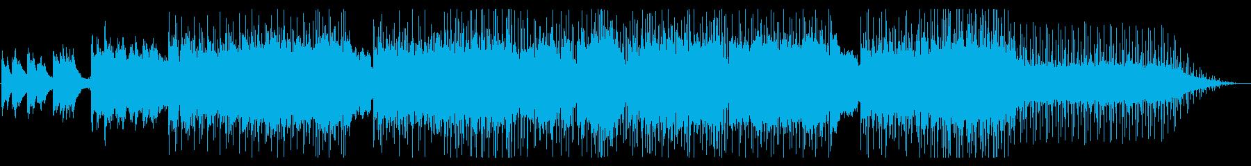 奥行きのあるニューエイジ・ピアノバラードの再生済みの波形