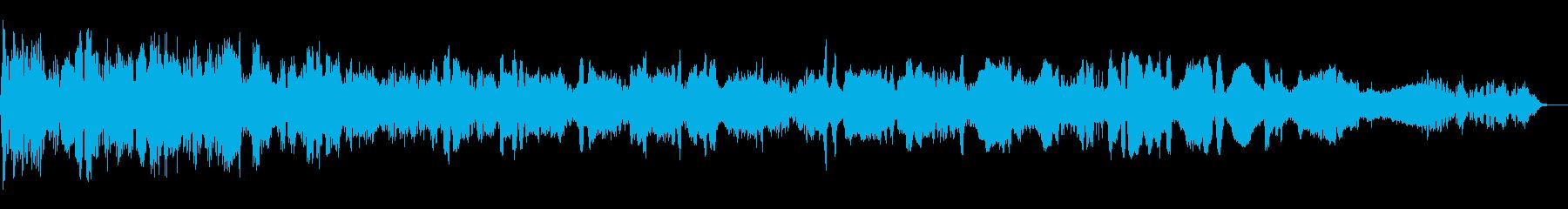 オーバーアンドアウトの再生済みの波形