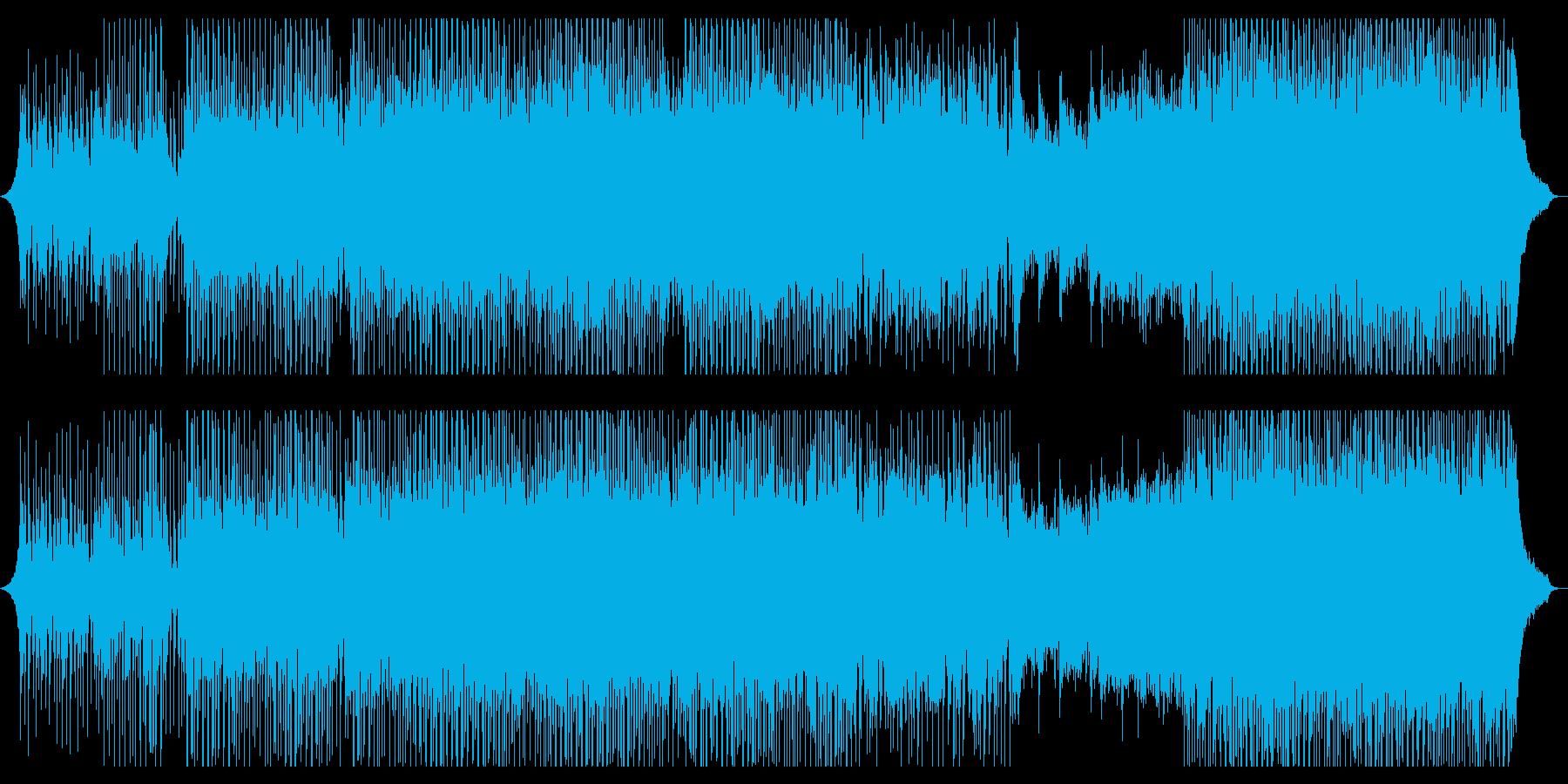 チャンピオンの再生済みの波形