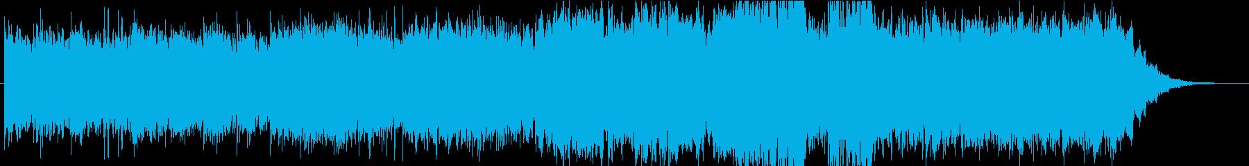 夜桜・和桜をイメージしたトランス風EDMの再生済みの波形