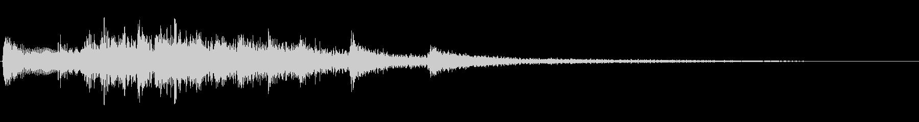 KANTギター高音穏やかジングル7の未再生の波形