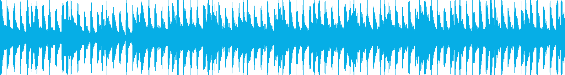 FFボス戦風、疾走感、戦闘バトルループcの再生済みの波形