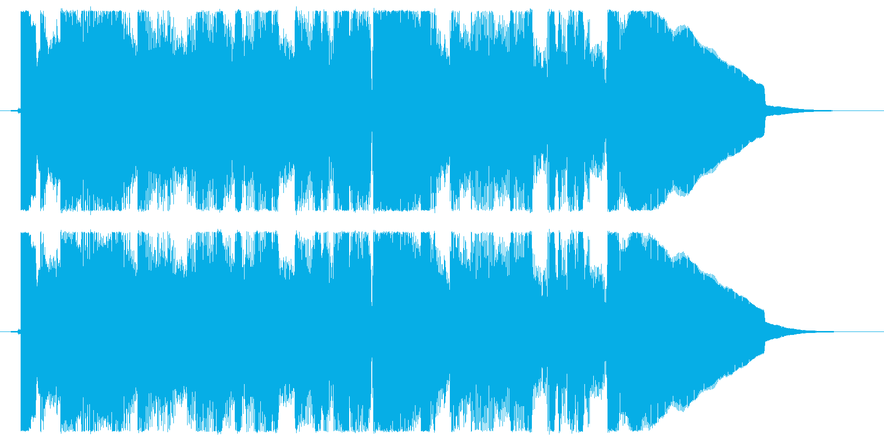 カントリー風アレンジのサウンドロゴ・シ…の再生済みの波形