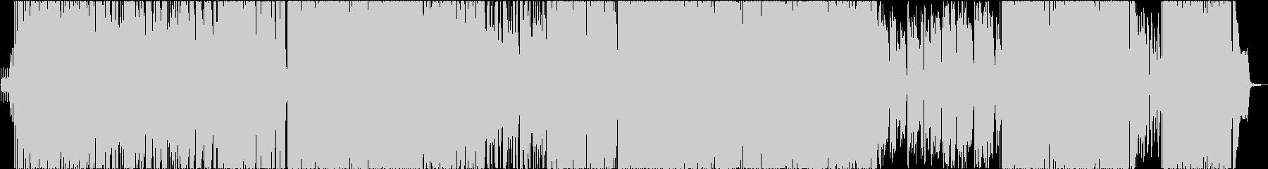 ほんのり切ないJ-POPウインターソングの未再生の波形
