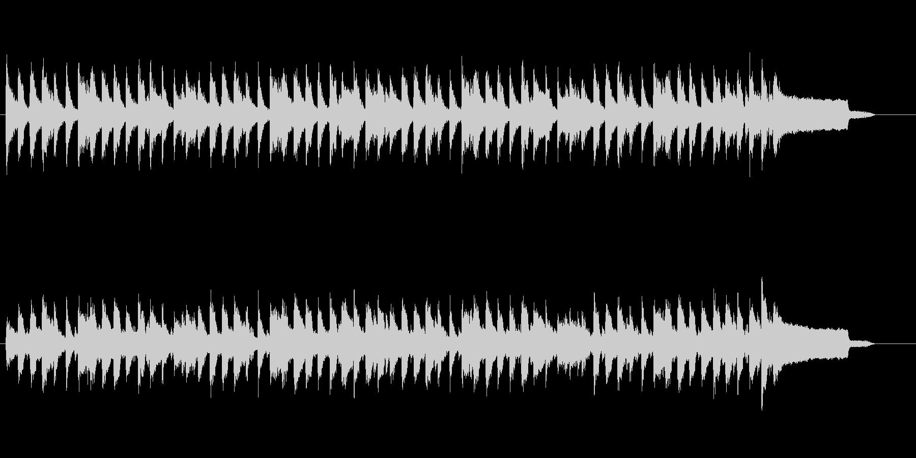 口笛メロディのほのぼのコーポレートBGMの未再生の波形