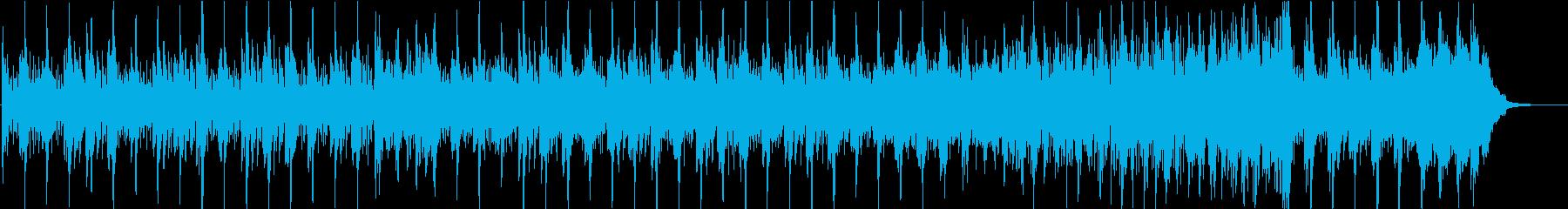 水の推進を描いた爽やかな曲の再生済みの波形