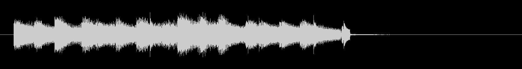 無機質なヒップホップの未再生の波形