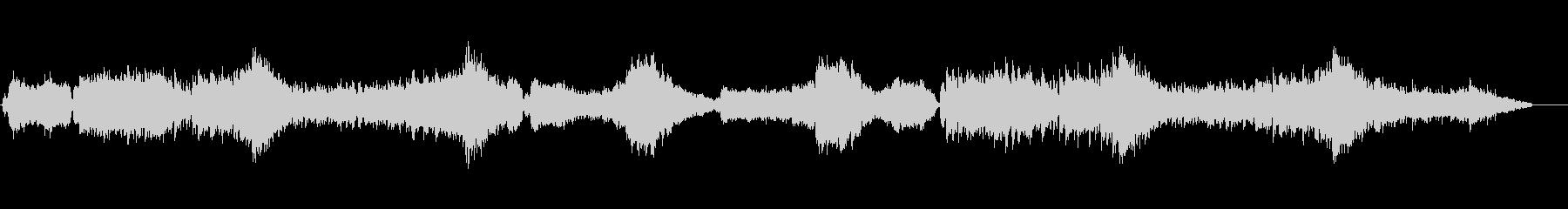 BGM的であり感動を演出するツボを持つ曲の未再生の波形