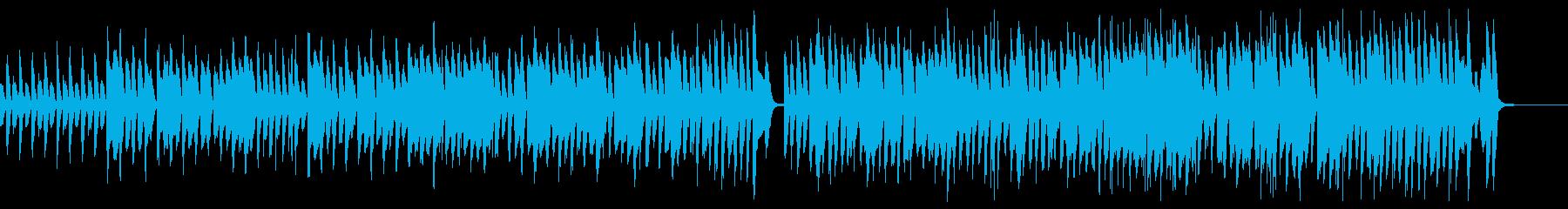 ひょうきんでポップな日常のBGMの再生済みの波形