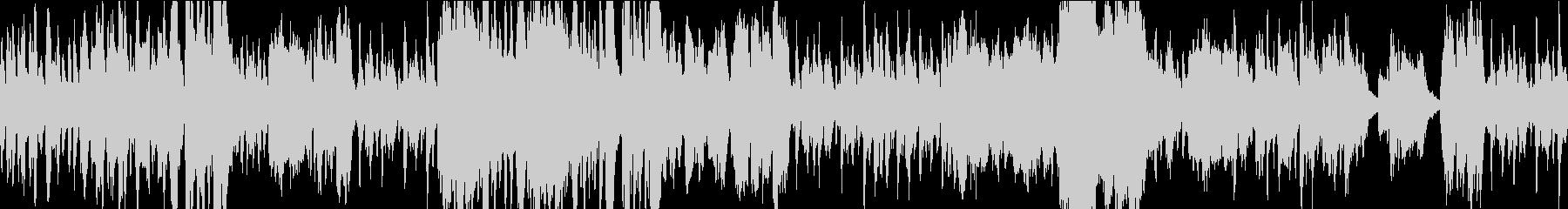 優雅なシーンに合う変奏曲風室内楽曲の未再生の波形