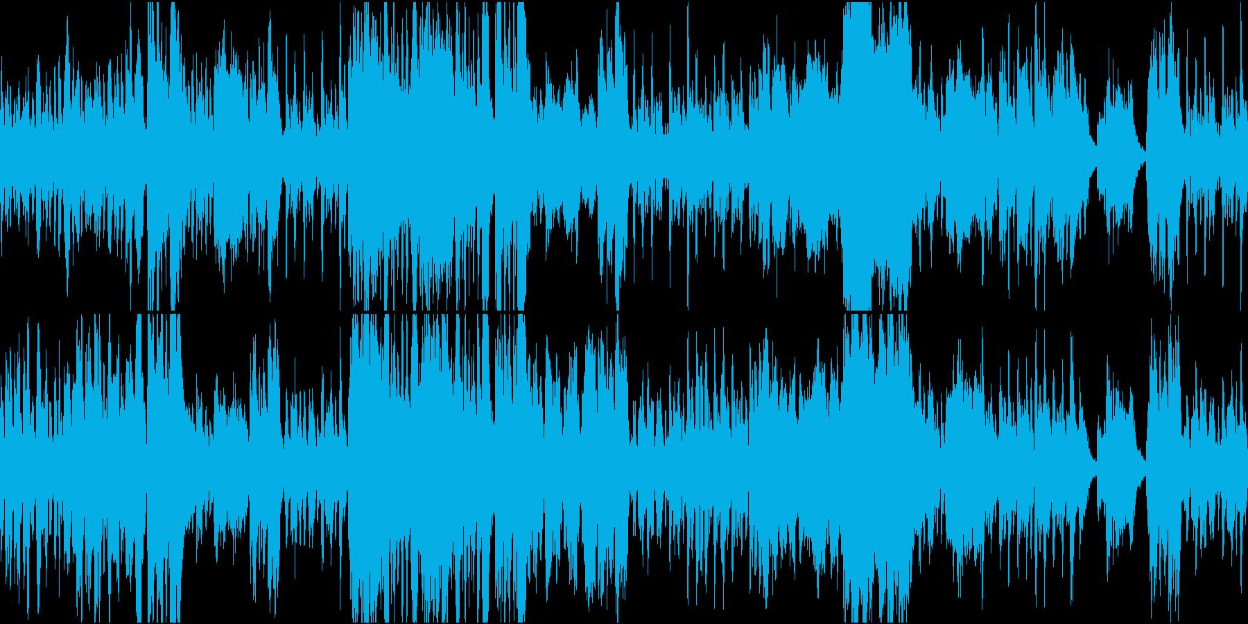 優雅なシーンに合う変奏曲風室内楽曲の再生済みの波形