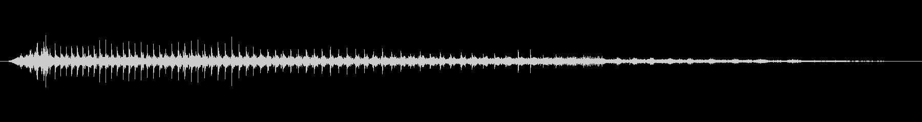 グラインダーハンド;スピードアップ...の未再生の波形