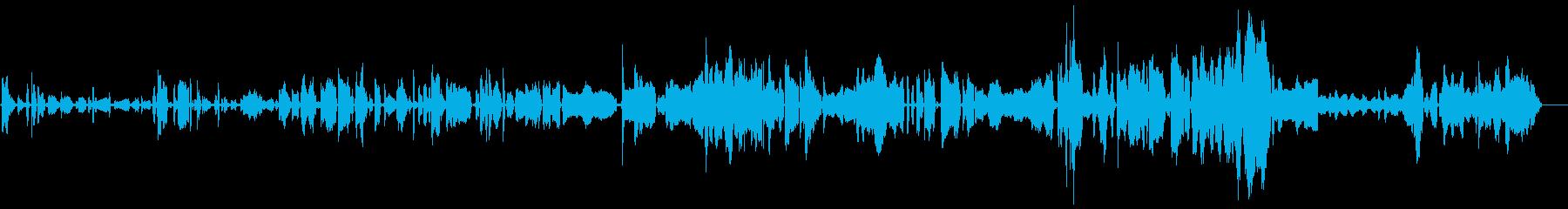 ゾンビのうめき声、独身女性2の再生済みの波形