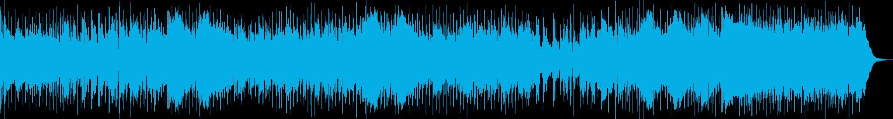 流れるような反射的なポップフォーク...の再生済みの波形