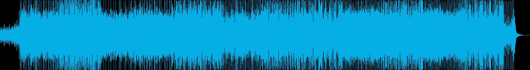 不思議な曲ですの再生済みの波形